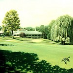 """18th At Plandome"" 30"" X 40"" 1992  Limited Edition Prints Available"