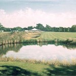 """18th At Westhampton II"" 30"" X 40"" 1998"