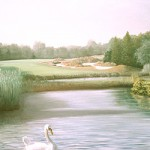 """4th At Westhampton"" 30"" X 40"" 1992"
