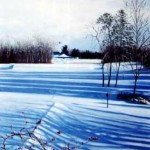"""Bittersweet - Winter""    Oil On Linen    33"" X 29""      2004"
