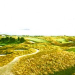 """Panorama of Atlantic G.C."" - This magnificent Rees Jones course was voted ""best new golf course"" in 1992 by Golf Magazine Panorama Of Atlantic G.C. Price: $400.00"