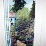 "Stairway Mural ""Idyllic Garden"" 110sq. ft. 1991"